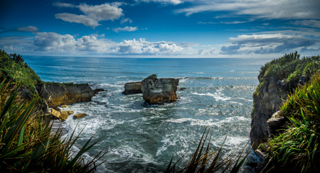 Waves, Eddies and Spume in the Tasman Sea, New Zealand