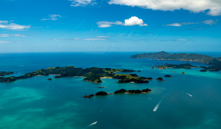 Scenic Bay of Islands, Paihia, New Zealand