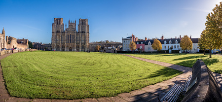 Wells, England - the smallest city in the Country.