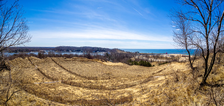 View from Mt. Pisgah - Historic Ottawa Beach, Holland, Michigan