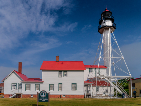 Whitefish Point Light Station - closest point to the wreck of the Edmund Fitzgerald
