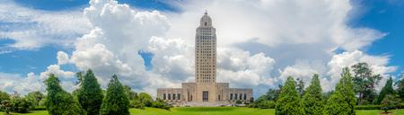 The famous and historic Art Deco Louisiana State Capitol Building, Baton Rouge, LA