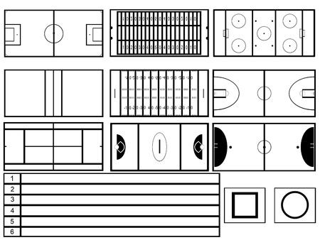 Stadiums Vector