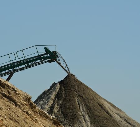 sand quarry: Sand Quarry