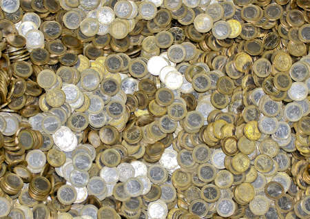 credit union: Euro Coins