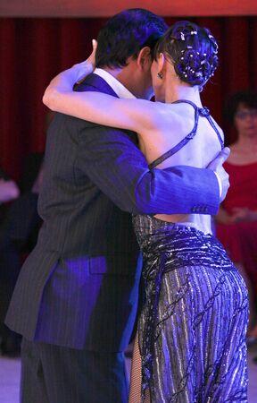 elasticity: Exhibition of tango