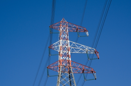 High voltage pylon photo