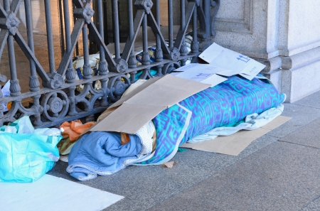 marginalized: Homeless