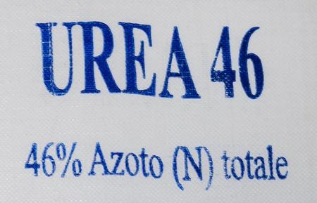 nitrogen: Urea nitrogen Stock Photo