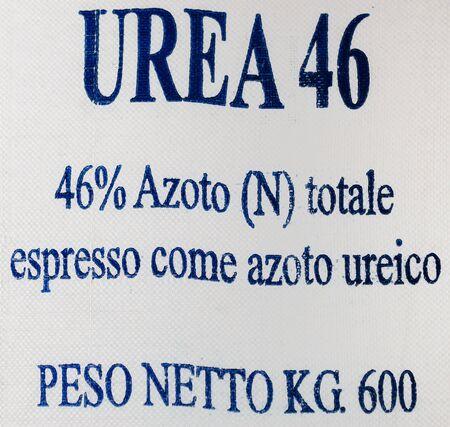 urea: Urea nitrogen Stock Photo