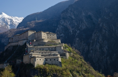Fortress of Bard - Aosta Valley Stock Photo - 19180707