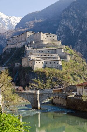 Fortress of Bard - Aosta Valley Stock Photo - 19180730