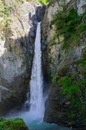 aosta: Waterfall Isollaz - Aosta Valley - Italy