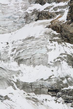 climatology: High mountain glacier