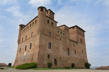 Castle of Grinzane Cavour - Piedmont - North Italy photo