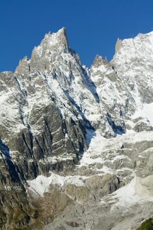 noire: Aiguille Noire de Peuterey - 3772 m a s l  - Mont Blanc - Italy