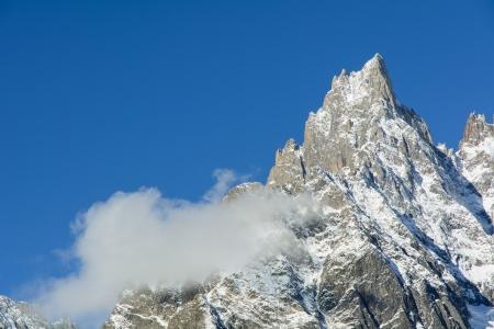 veny: Aiguille Noire de Peuterey - 3772 m a s l  - Mont Blanc - Italy