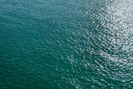 encrespado: Mar picado Foto de archivo