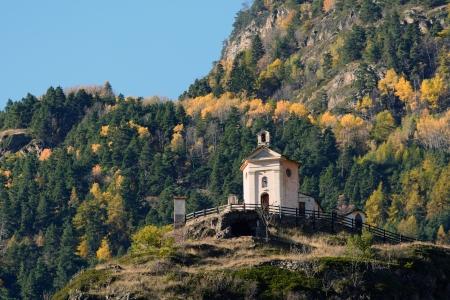 aosta: Shrine of Rochefort - Valle d Aosta - Italy