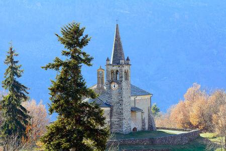 xv century: Moron Church - Valle d Aosta - XV century