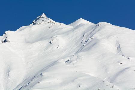 veny: View of Valdigne - High Aosta Valley - North Italy Stock Photo