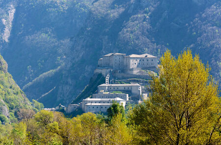 bard: Bard Fortress - Aosta Valley - Italy