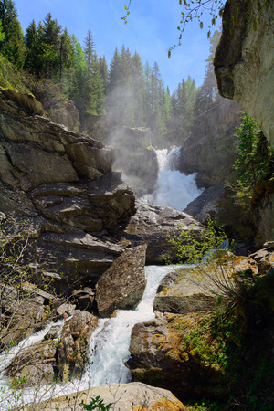 aosta: Waterfalls of the Rutor - Aosta Valley - Northern Italy
