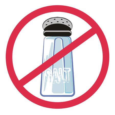 Tenga cuidado de su hipertensión. No use sal en los alimentos.