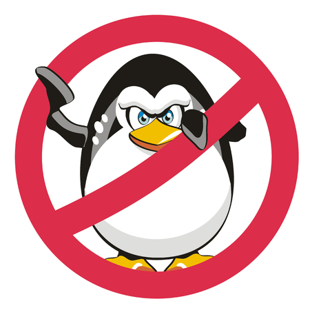 seabird: A funny symbol that refers to the famous algorithm penguin. Stop Penguin!