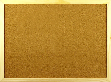 horizontal position: Empty cork board in a horizontal position, ready for you to put your message