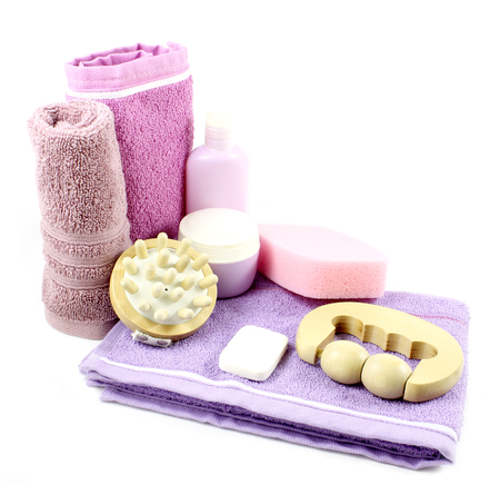 Toiletries and hygiene. Spa concept. photo