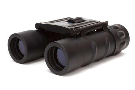 Black binoculars isolated on a white background. Stock Photo - 12944349