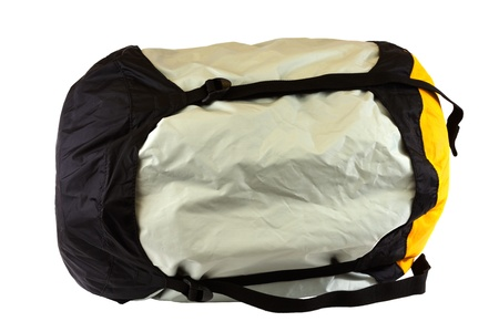 padding: Sleeping bag isolated on a white background  Stock Photo