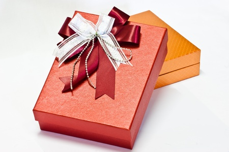 brightly: brightly colored gift box for your celebration