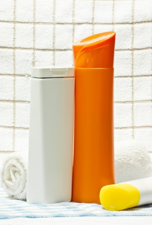 necessary: hygiene products as necessary and good for you Stock Photo