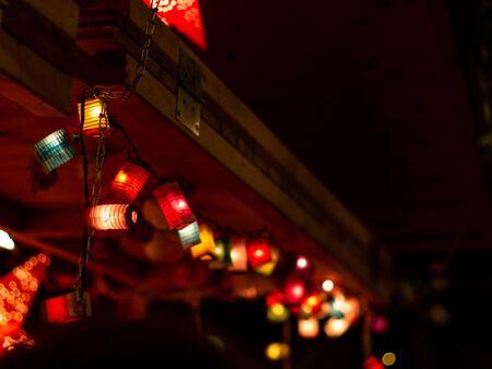 Christmas lampions
