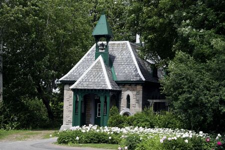 Stone chapel at Montreal Cemetary, Quebec