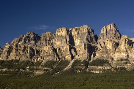 Shot near Banff, Alberta, in Banff National Park. Stock Photo