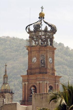 Church detail from Puerto Vallarta, Jalisco, Mexico