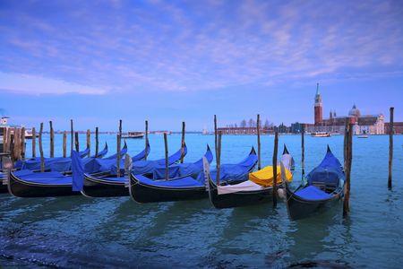 Venetië. San Giorgio Maggiore.  Stockfoto