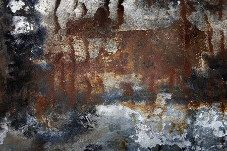 Rusty metal background. Grunge background. photo
