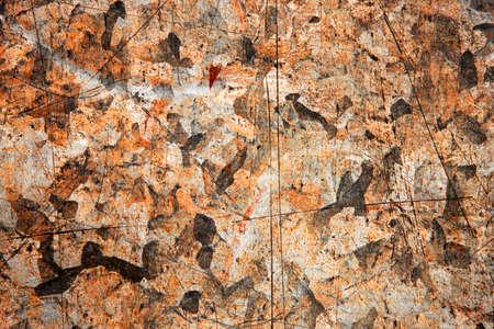Rusty metal background. Grunge background. Stock Photo - 7341411