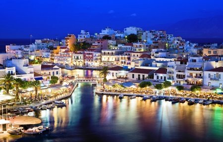 Agios Nikolaos.Agios Nikolaos is a picturesque town in the eastern part of the island Crete built on the northwest side of the peaceful bay of Mirabello.