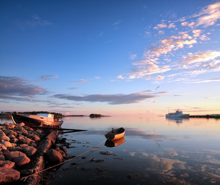 Solovki, Solovetsky Islands,The White Sea, Korelia, Russia.