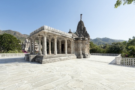 Ancient Sun Temple in Ranakpur. Rajasthan, Pali District, Udaipur, India. Asia. photo