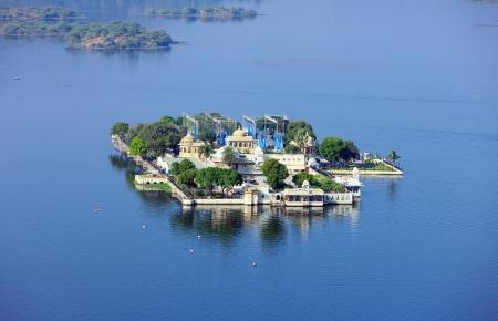 Jag Mandir Palace, Lake Pichola, Udaipur, Rajasthan, India, Asia Editorial
