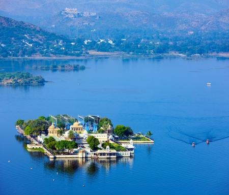 monument in india: Jag Mandir Palace, Lake Pichola, Udaipur, Rajasthan, India, Asia Editorial