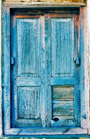 old wooden door: Old wooden shutters, background