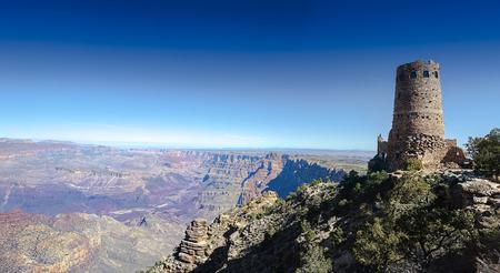 Grand Canyon watchtower, Arizona, USA photo
