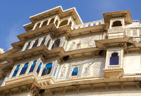 largest: City Palace in Udaipur was built in a flamboyant style and is considered the largest of its type in Rajasthan. India, Asia